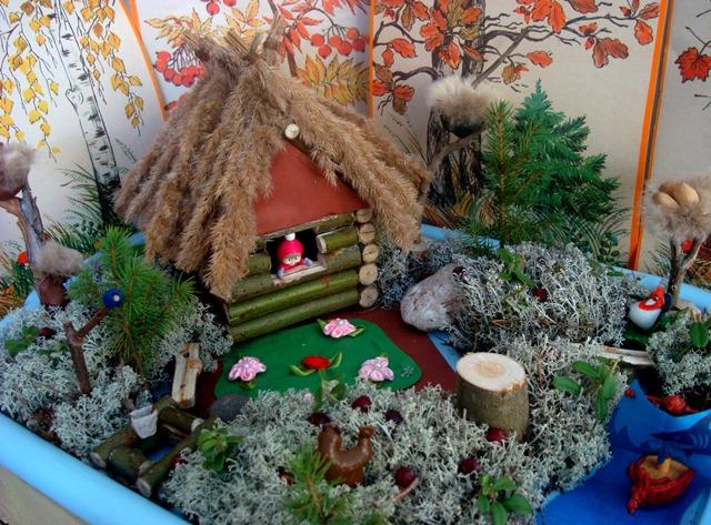 Лесные поделки в детский сад 44
