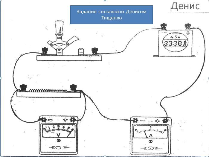 Физика 8 класс лабораторные работы сборка электрической цепи