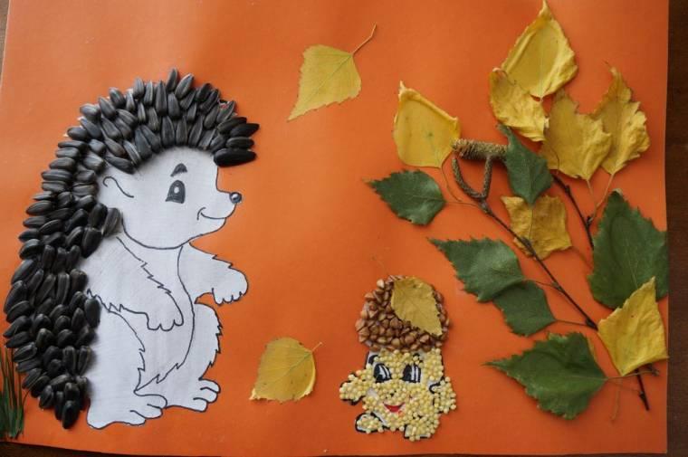 Поделка детскому саду на листе