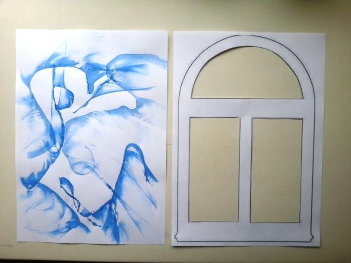 Картинки окон для поделок