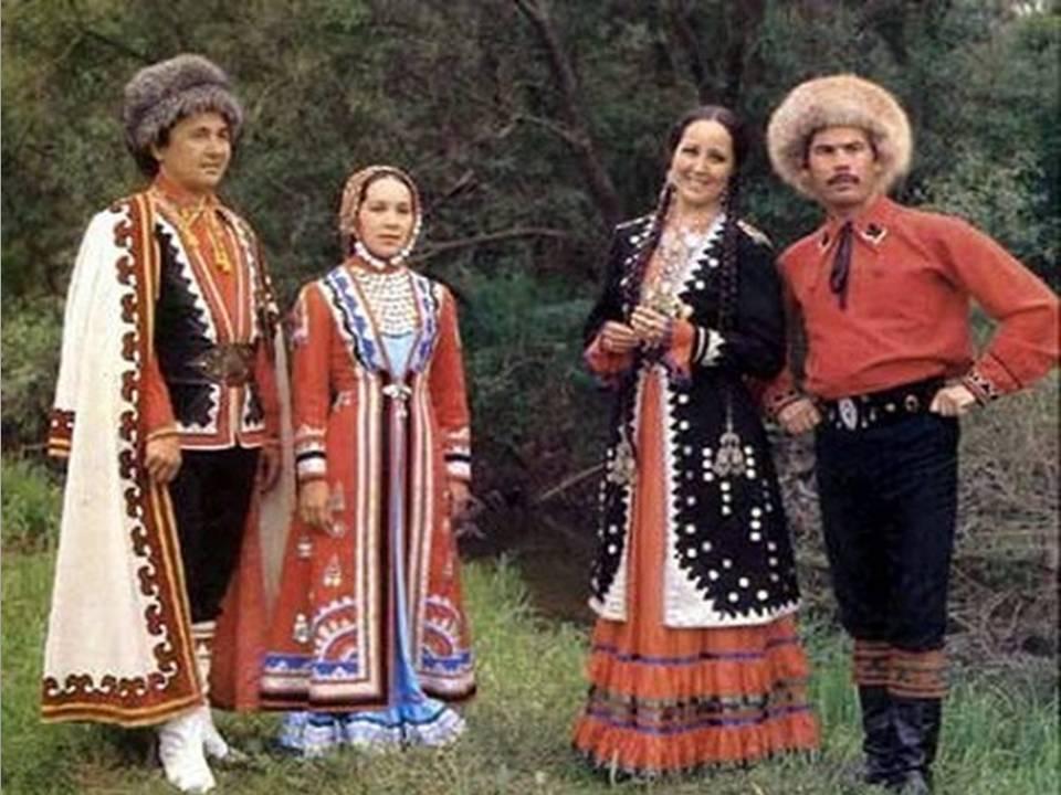 башкиры национальная одежда фото