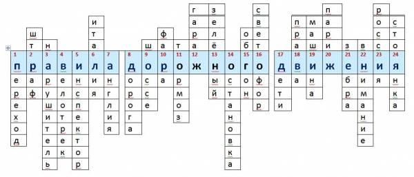 30 словарных слов с ь знаком