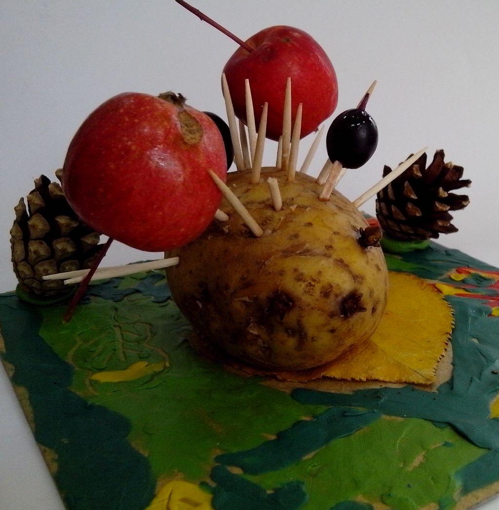 Поделки из картошки своими руками для школы: инструкции с фото и видео 99