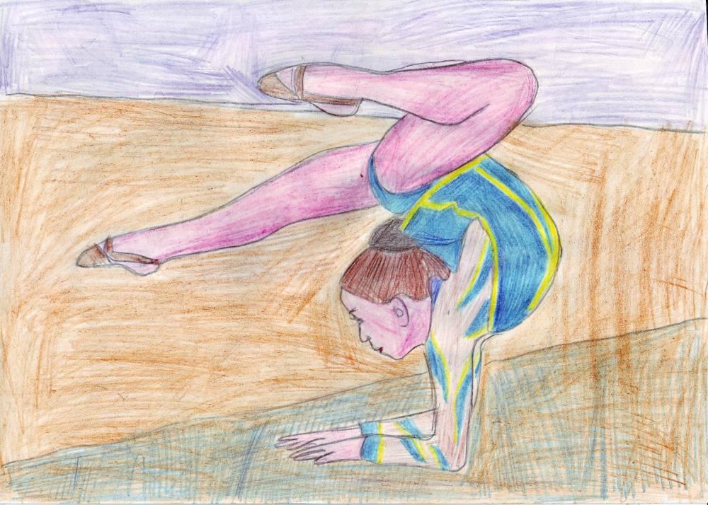 Рисунки я занимаюсь спортом