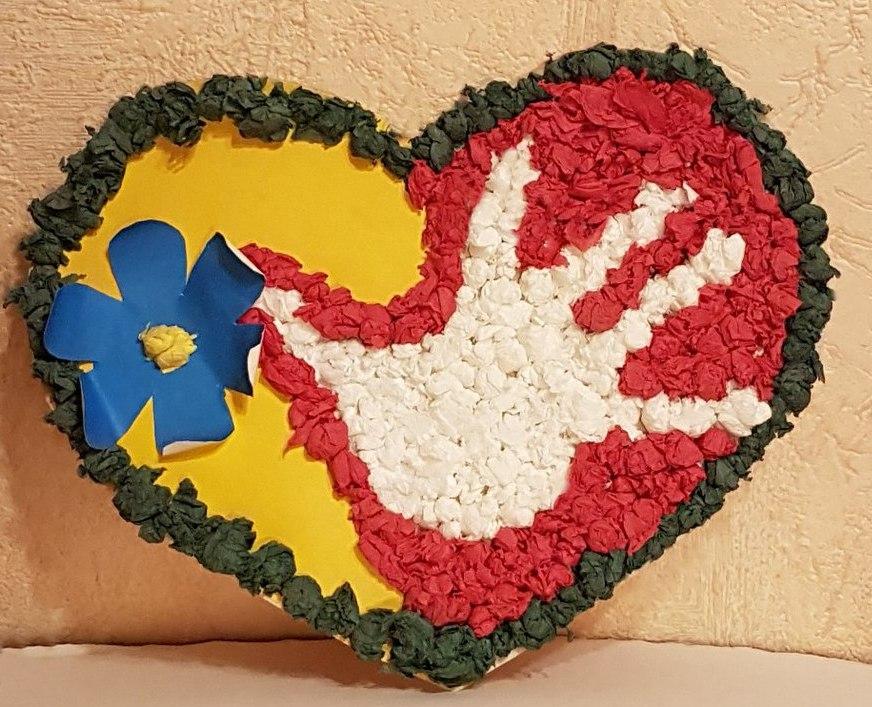 Поделки сердце донбасса 22