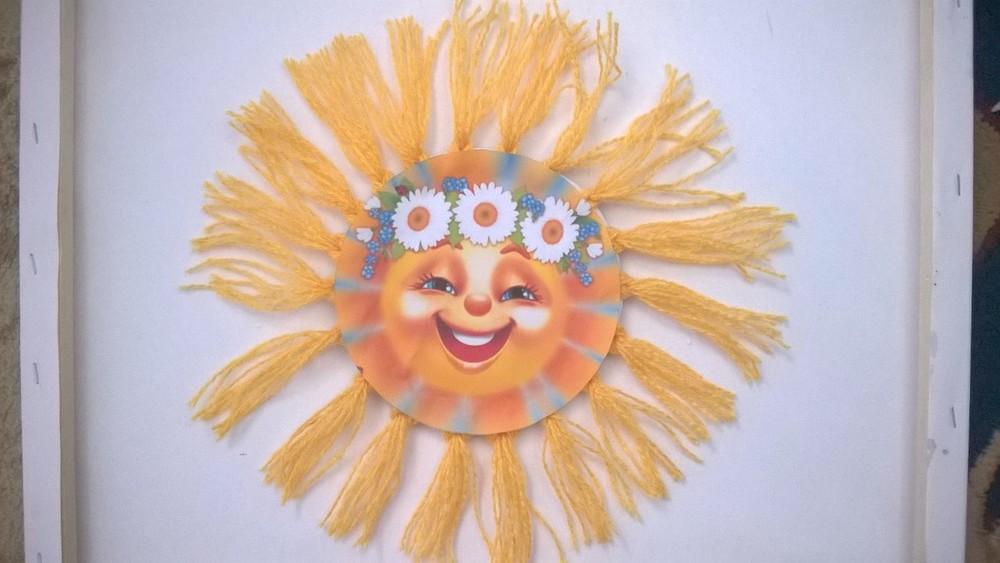 Солнце для масленицы своими руками 74