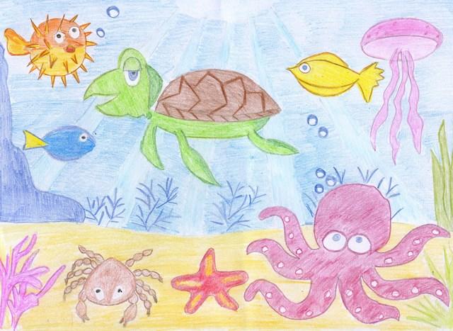 Картинки подводное царство подготовительная группа